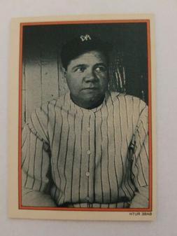 1985 Topps Circle K Promo Babe Ruth New York Yankees #2