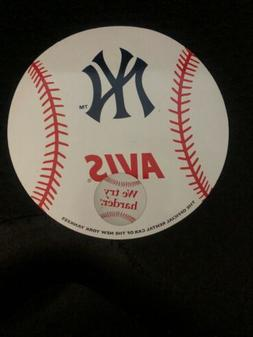 1990s NEW YORK YANKEES AVIS 'OFFICIAL RENTAL CAR OF THE NY Y