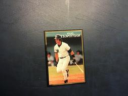 1991 Don Mattingly New York Yankees Promo Card