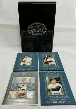 2007 Topps Sterling New York Yankees Yogi Berra Four Single