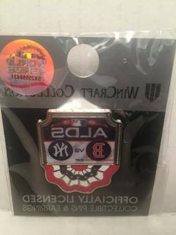 2018 new york yankees lapel pin postseason