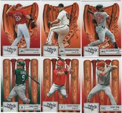 2019 Panini Leather & Lumber Baseball - Base Set Cards - Cho