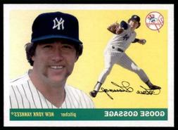 2020 Archives Base #47 Goose Gossage - New York Yankees