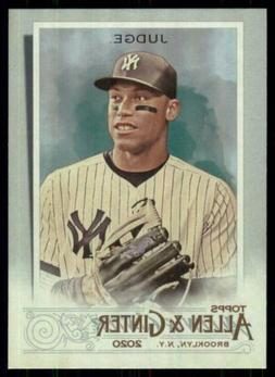 2020 Topps Allen and Ginter Hot Box Silver #13 Aaron Judge -