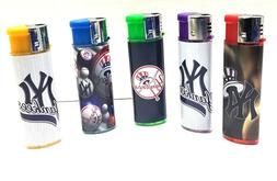 5 new york yankees lighters assorted designs
