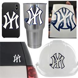 5 NY New York Yankees Vinyl Decal Sticker Car Window Helmet