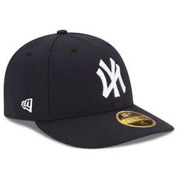 New Era 5950 New York Yankees GAME Low Profile Fitted Hat  M