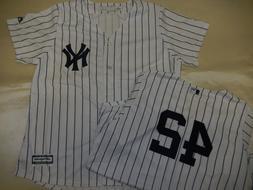 9601-19 WOMENS New York Yankees MARIANO RIVERA Sewn COOL BAS