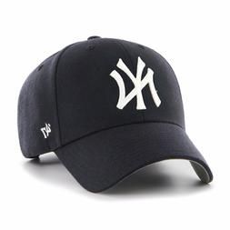 New York Yankees 47 Brand MVP Clean Strap Adjustable On Fiel