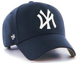 New York Yankees MLB '47 Brand Hat Cap MVP Navy Blue Adult M