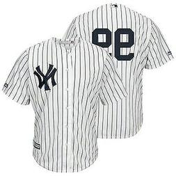 Aaron Judge #99 New York Yankees White Pinstripe Classic Bas