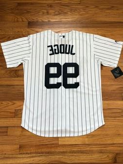 Aaron Judge #99 New York Yankees Pinstripe Cool Base Men's