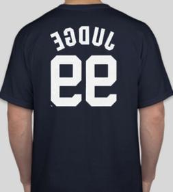 Aaron Judge New York Yankees Primary Logo Short Sleeve T-Shi