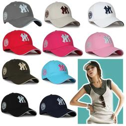 Baseball Cap New York Yankees Cap NY Logo Hat Hip-Hop Women