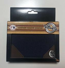 """Brand New"" New York Yankees Canvas BIFOLD Wallet"
