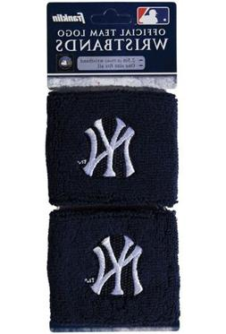 Brand New New York Yankees Wristbands Sweatbands Two Pack Bl