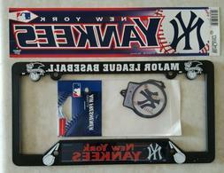 NEW YORK YANKEES Car Fan Pack Bumper Sticker License Plate F