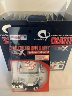 Case of 12 Phiten New York Yankees Necklaces MLB Box Lot $40