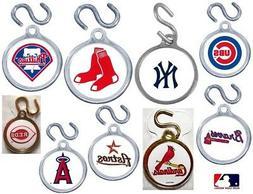 CHOOSE TEAM MLB Instant ID TAG Charm S-hook NEW Pet Dog Lugg