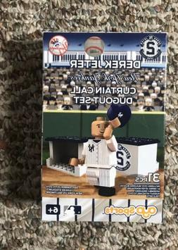 Derek Jeter New York Yankees Oyo Curtain Call Dugout Set