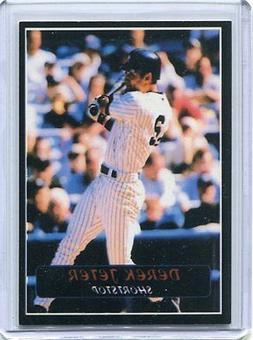 Derek Jeter Promo Card New York Yankees MINT Only 10,000 Set