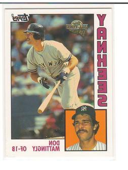 Don Mattingly New York Yankees Insert Parallel Variation SP