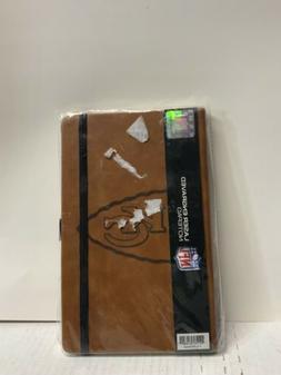 ☀️ Laser Engraved  Lined Notepad Brown MLB Hologram