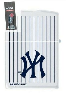 0403 new york yankees logo white matte