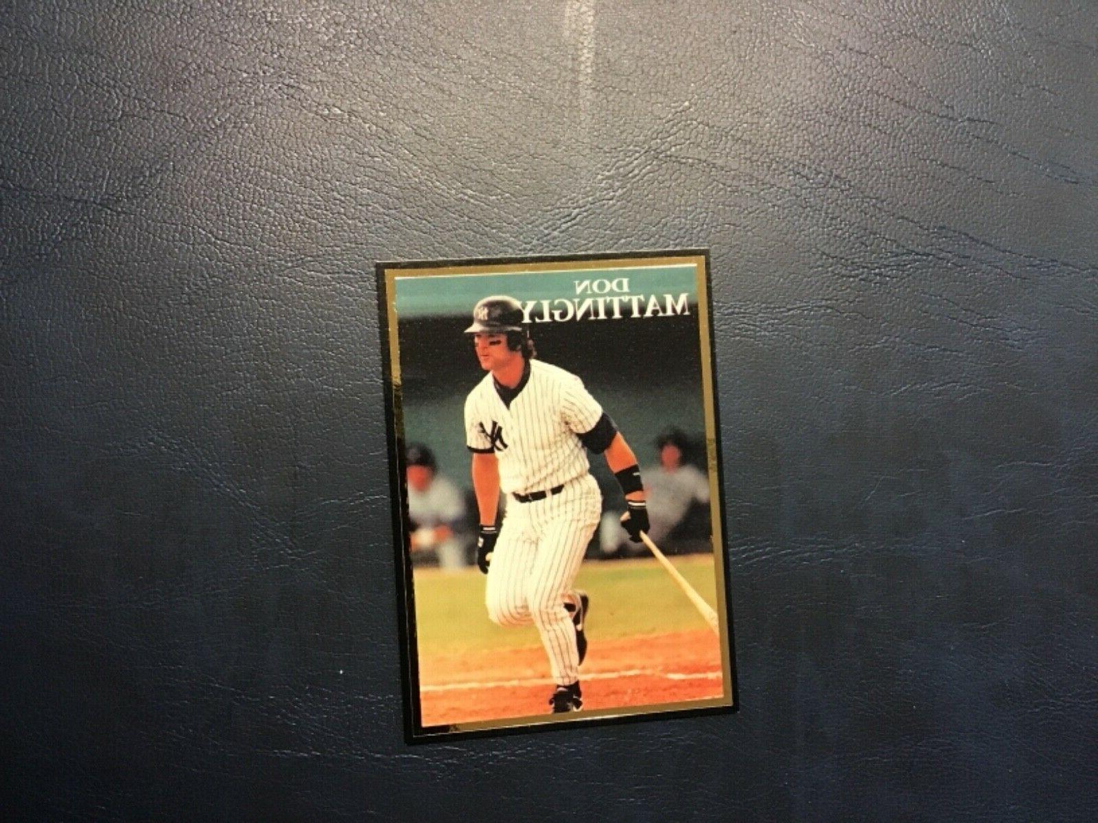 1991 don mattingly new york yankees promo