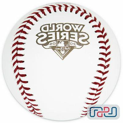 2009 world series official mlb game baseball