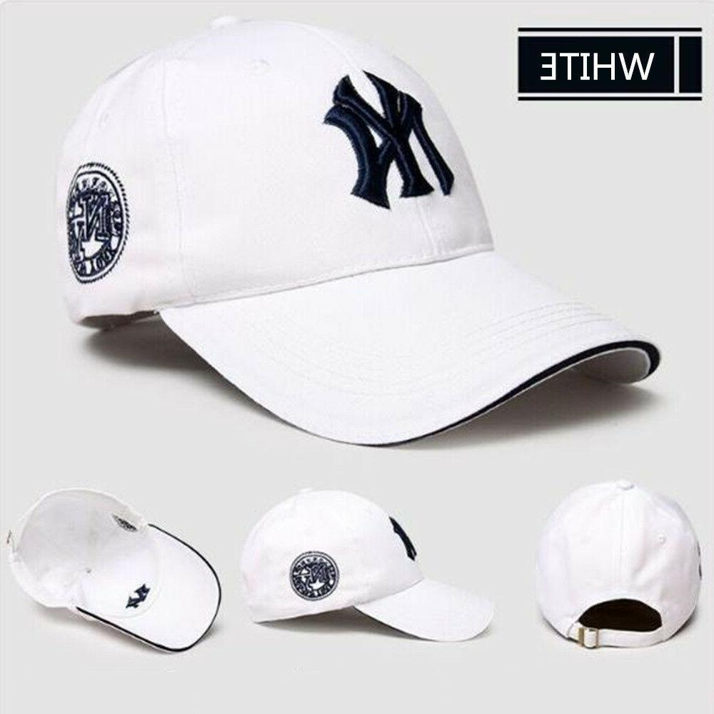 Baseball Yankees Cap NY Hat Women Unisex