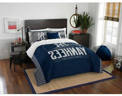 full queen new york yankees bed comforter