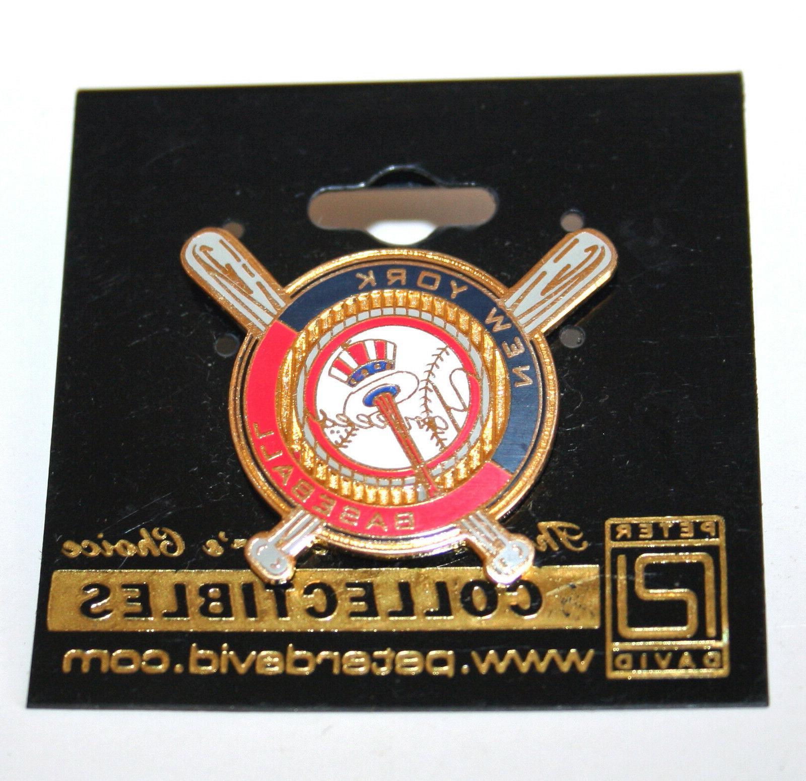 MLB New Yankees Crossed Bats David Lapel Yankee Hat