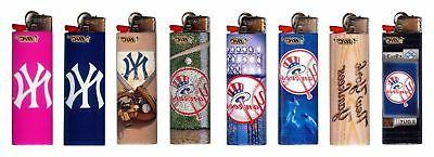 mlb new york yankees lighters set of