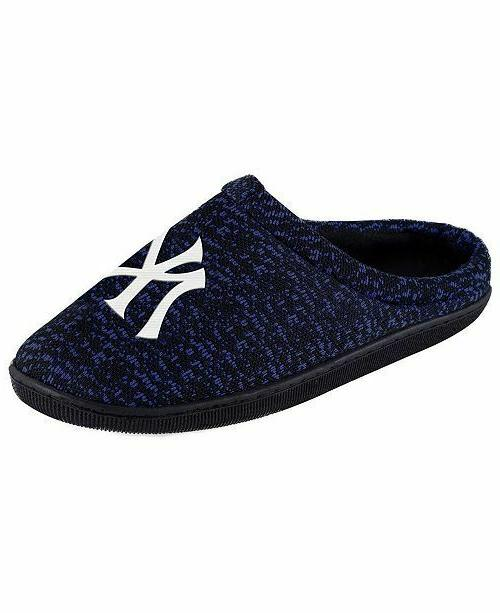 mlb poly knit cup sole slide slippers