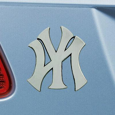 New York Yankees Auto Car Heavy Metal Emblem