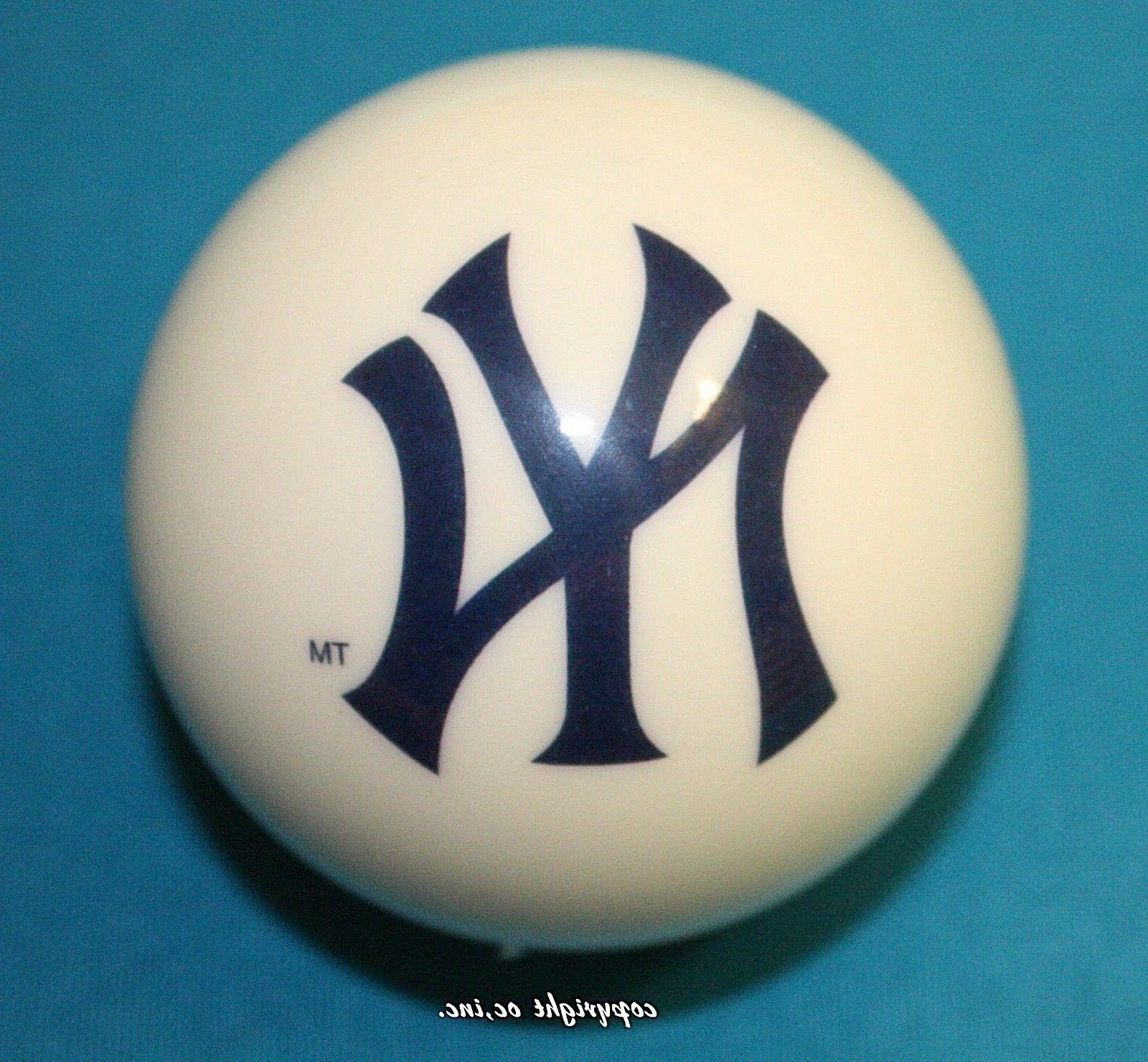 new mlb new york yankees baseball billiard