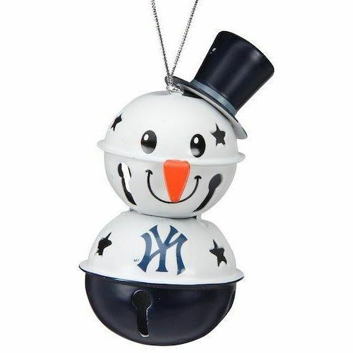 new york yankees 2 tier snowman bell