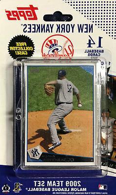 New York Yankees 2009 Topps Factory 15 Card Team Set  MANTLE