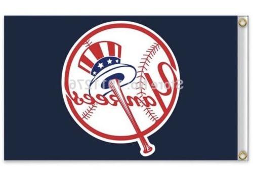 new york yankees 3x5 ft flag baseball