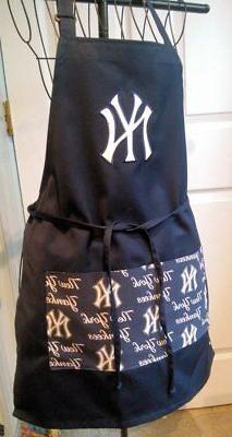 New York Yankees  Apron - Kitchen BBQ - Handmade - Unisex -