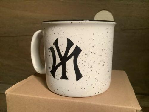 NEW YANKEES Baseball Campfire Coffee Cup !