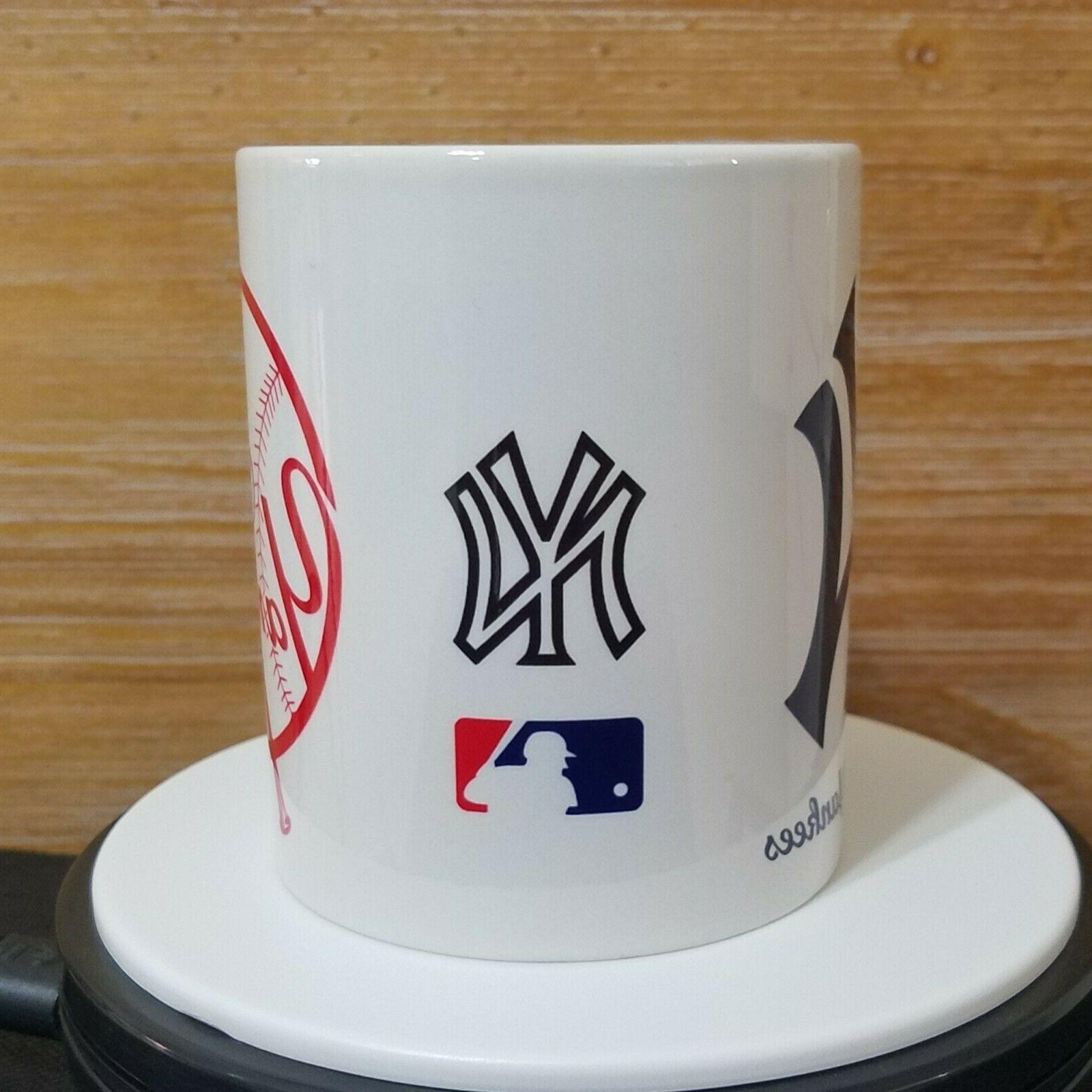 NEW YANKEES Mug Taza 11oz Coffee Souvenir Beisbol