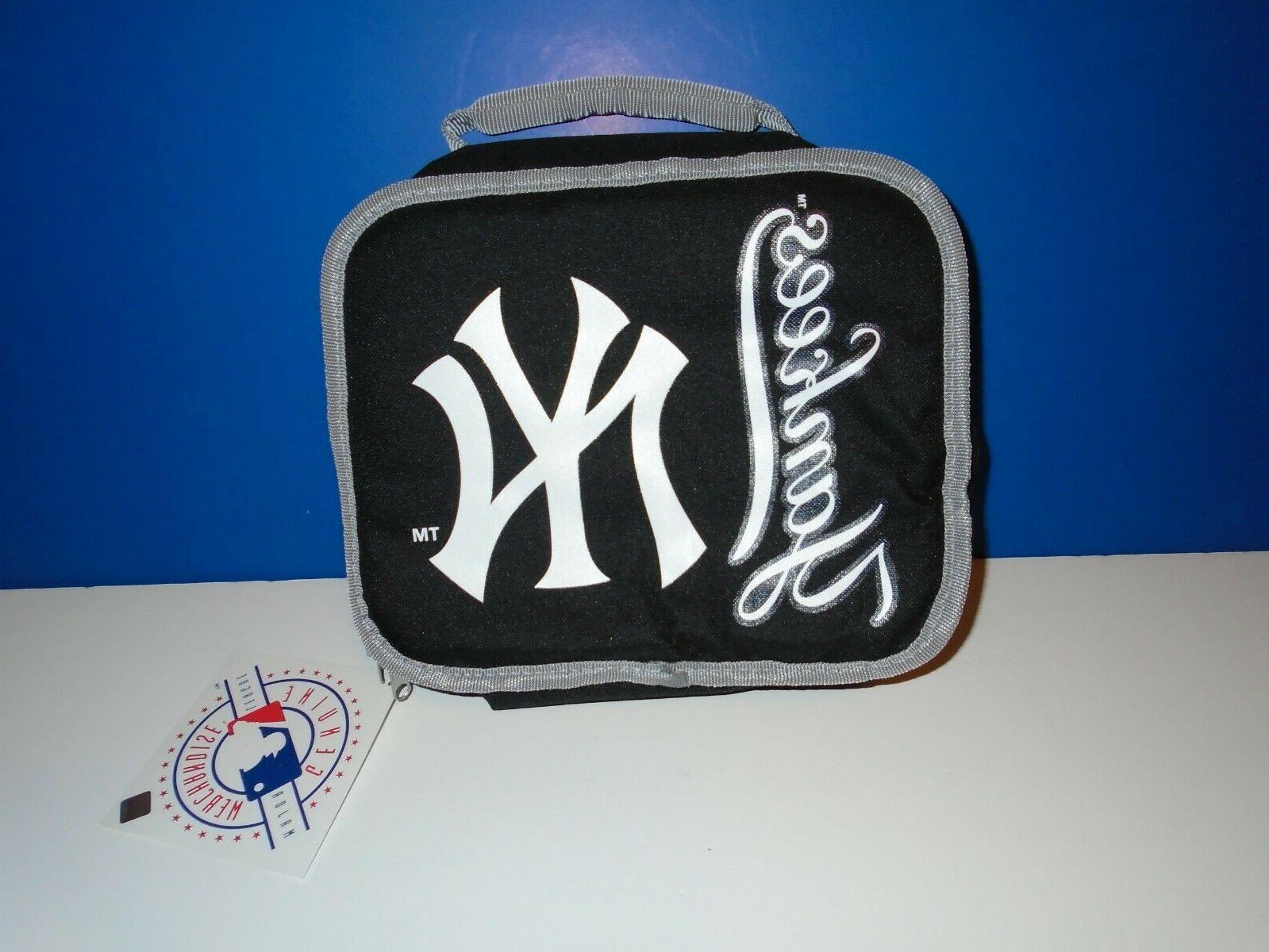 new york yankees insulated lunch box cooler