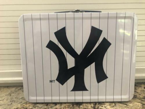 New Yankees MLB baseball Lunch Box 7-24-2010 stubs