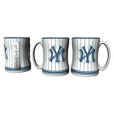 new york yankees mlb pinstripe relief coffee