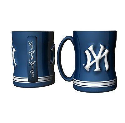 new york yankees mlb relief coffee mug