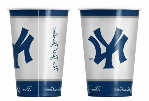 new york yankees paper cups disposable special