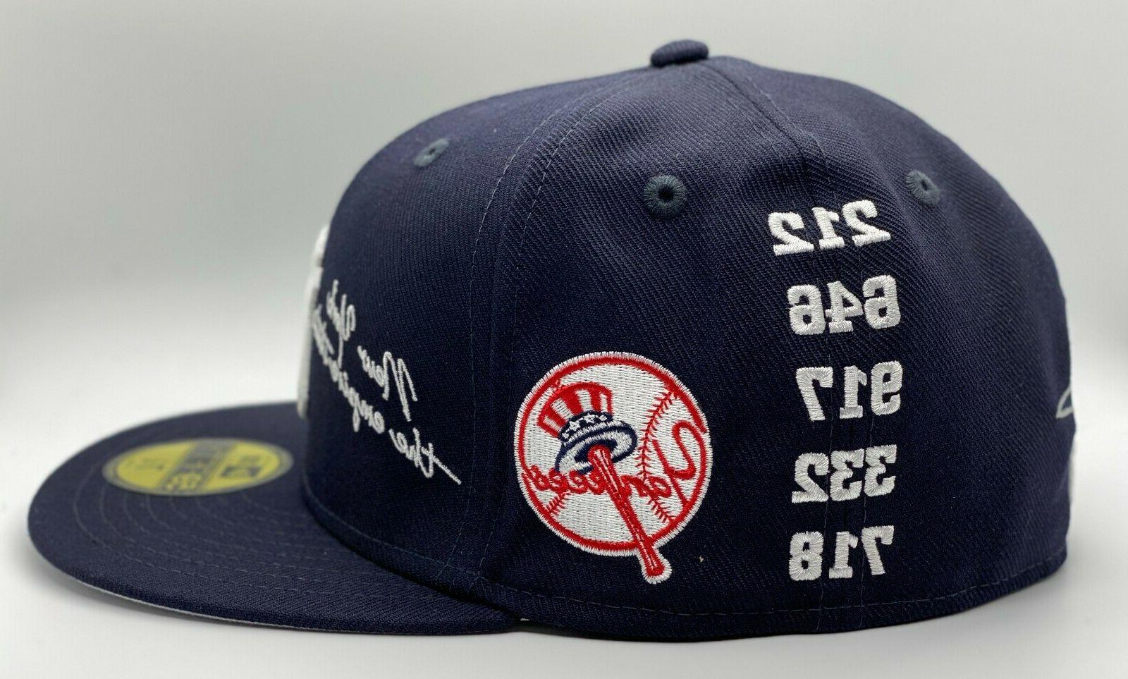 New York Yankees Era 59Fifty OTC Gray Under Visor