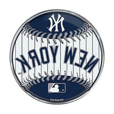 new york yankees round baseball ce3 die
